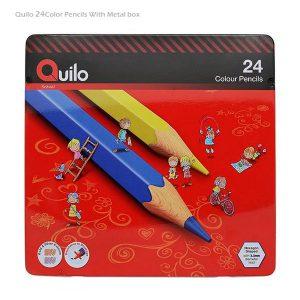 مدادرنگی 24 رنگ لوله ای کوییلو