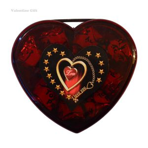 شکلات قلبی بزرگ ولنتاین