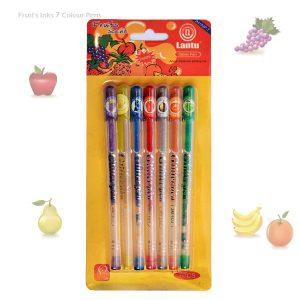 خودکار عطری اکلیلی 7 رنگ در رایحه میوه های مختلف