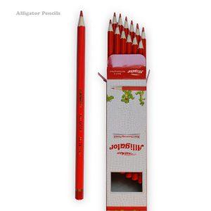 مداد قرمز سوسمار نشان
