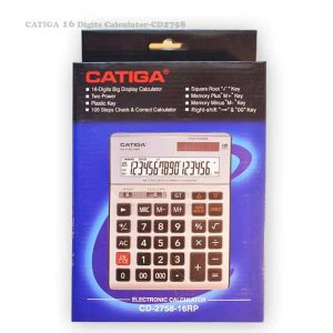 ماشین حساب کاتیگا مدل CD-2758