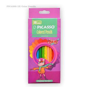 مداد رنگی 12 رنگ پیکاسو