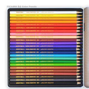 مداد رنگی 24 رنگ پیکاسو