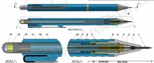 طراحی و نمای داخلی اتود روترینگ 0/5 Tikky Rotring