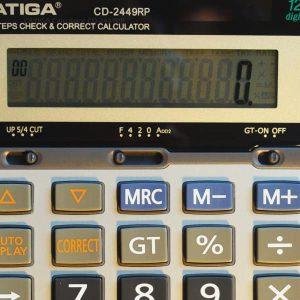 ماشین حساب کاتیگا مدل CD-2449RP
