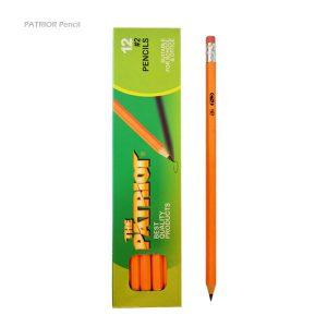مداد مشکی پاک کن دار PATRIOR