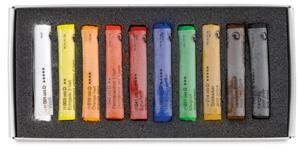 انواع پاستل : پاستل گچی یا Chalk postel