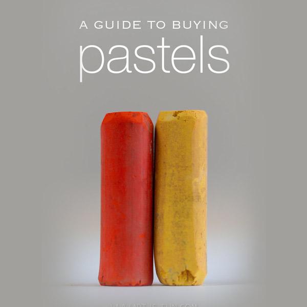 تفاوت مداد شمعی و پاستل و انواع پاستل