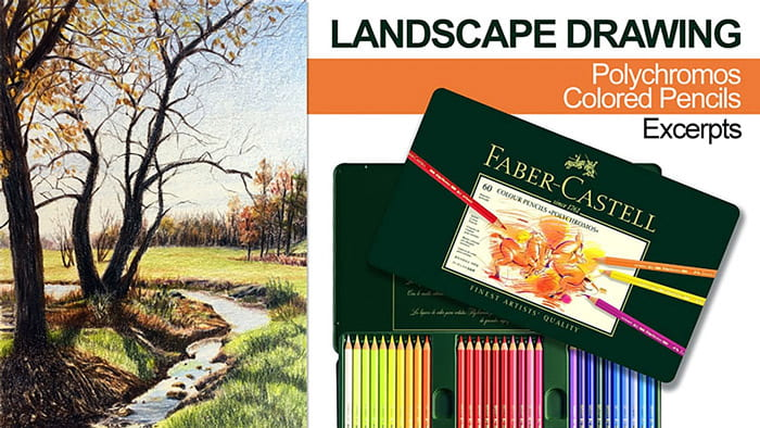 خلق آثار هنرمندانه با مداد رنگی پلی کروم فابر کاستل