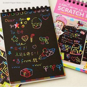 دفترچه جادویی رنگین کمانی سایز بزرگ