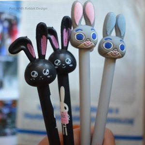 روان نویس فانتزی طرح خرگوش - Pen With Rabbit Design