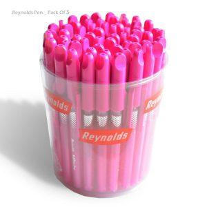 خودکار مینی رینولدز - صورتی و ارزان