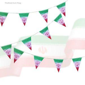 پرچم ایران مثلثی ریسه ای
