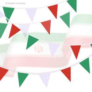 پرچم رنگی مثلثی ریسه ای